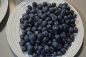 Blueberries, Lemon , Honey , Greek Youghurt (2)