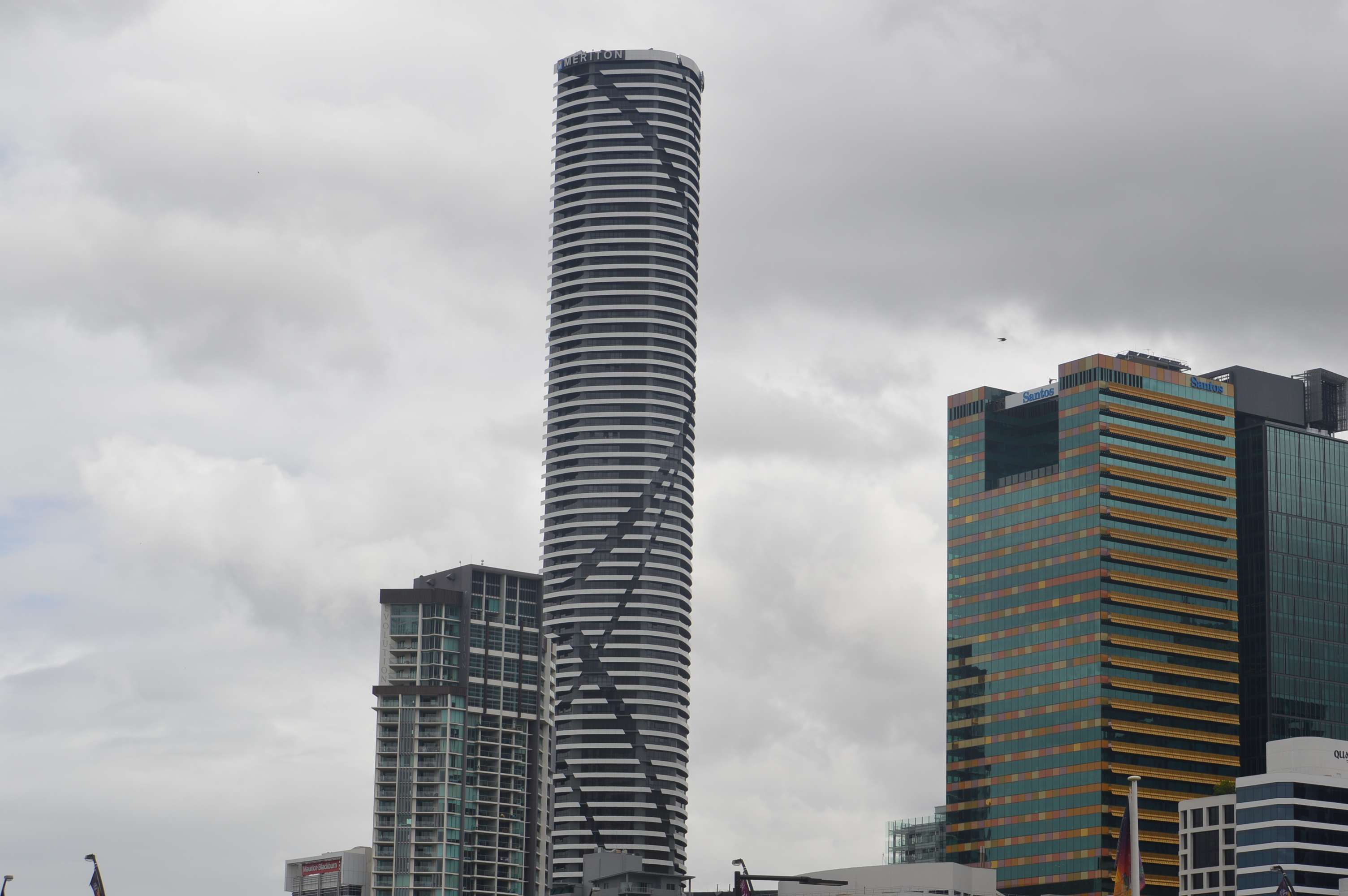 Meriton Apartments Tallest Building Brisbane With 80