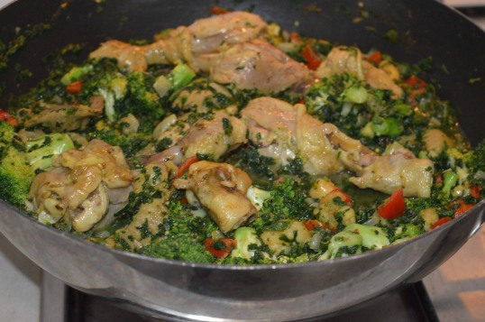Spinach & Broccoli Vege Mix 031