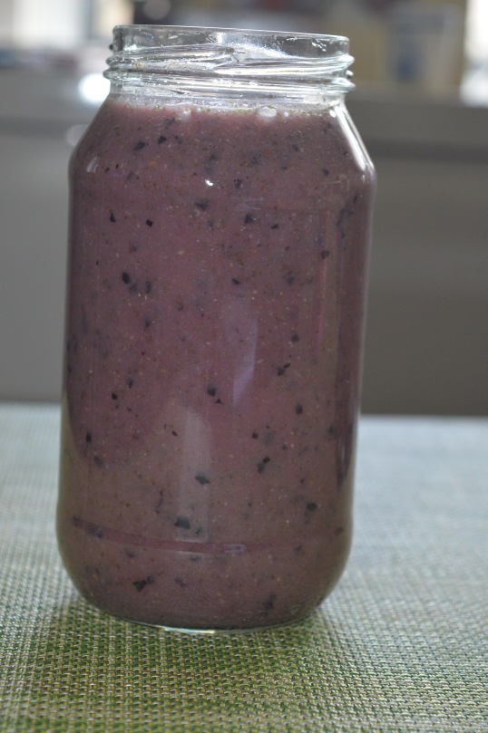 Black Grapes, Pineapple, Mint, Banana, Coconut Water 012