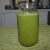 Spinach Kale Parsley Almond Milk, coconut Water 002