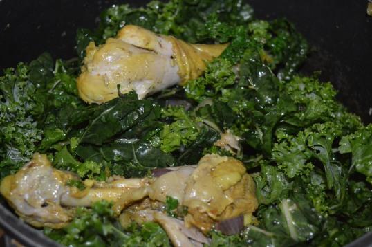 Silvertbeet + Kale Vege 010
